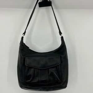 Fossil handbag/wallet in one black leather